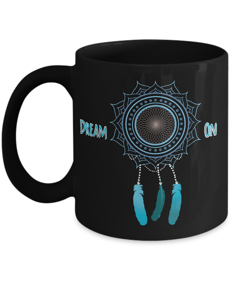 """Dream On"" - Dream Catcher Mug"