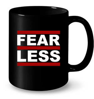 'FearLess Throwback' Mugs by Tony