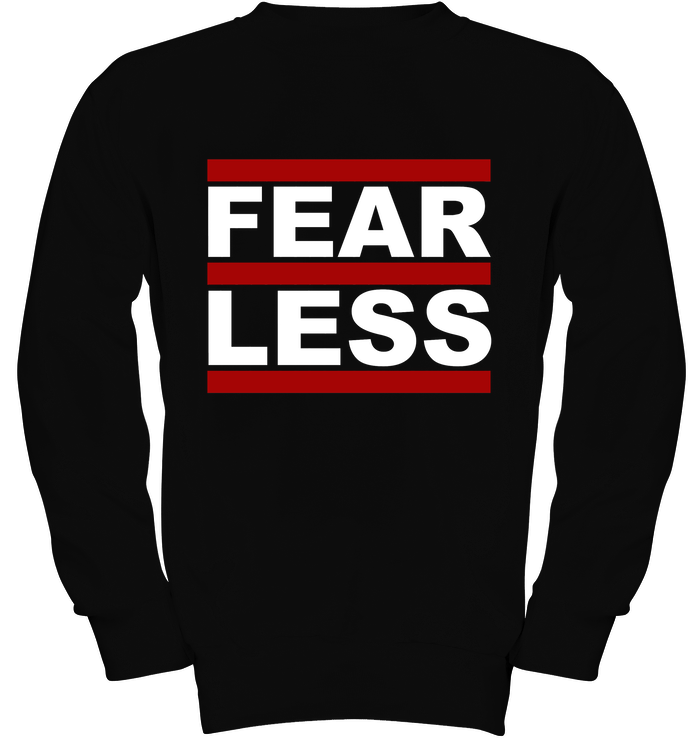 'FearLess Throwback' Hoodies and Long Sleeves by Tony