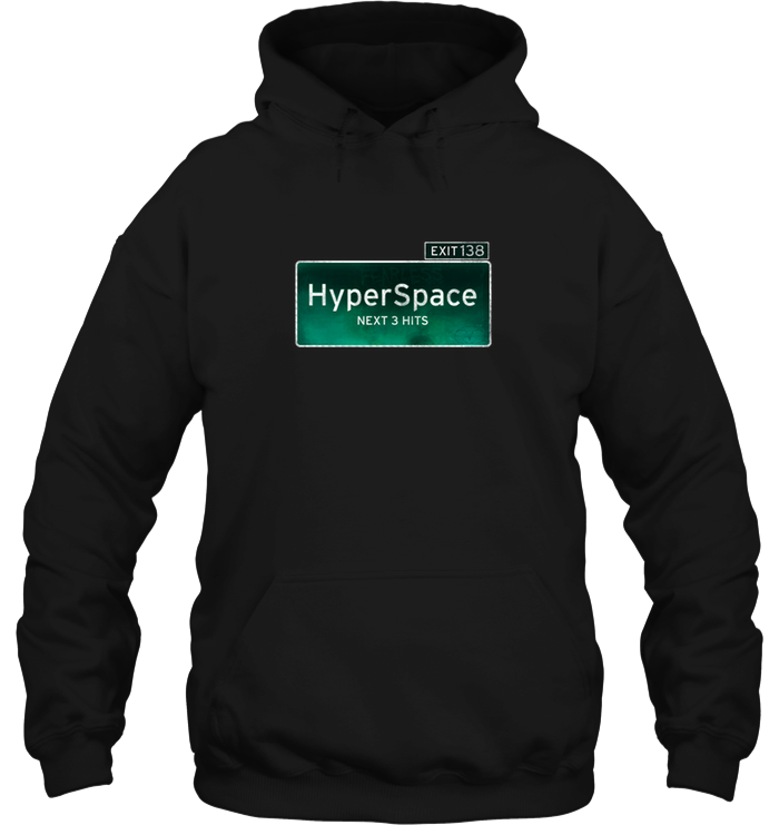 'HyperSpace Exit' Hoodies and Long Sleeves by Nick Zervos
