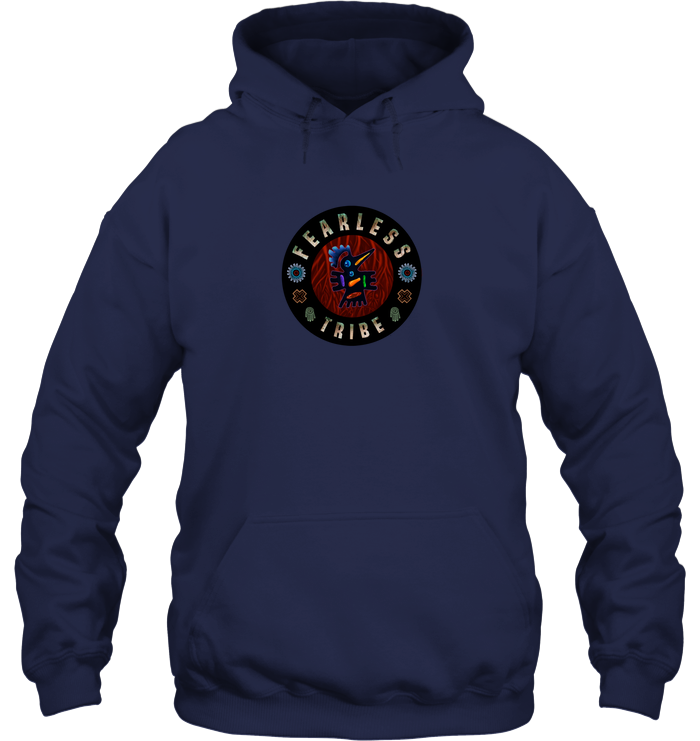 'Tribe Badge' Hoodie and Long Sleeve by Tony