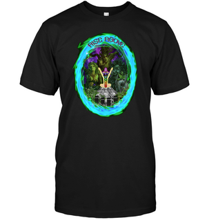 Rise Above apparel by Shaman Ron
