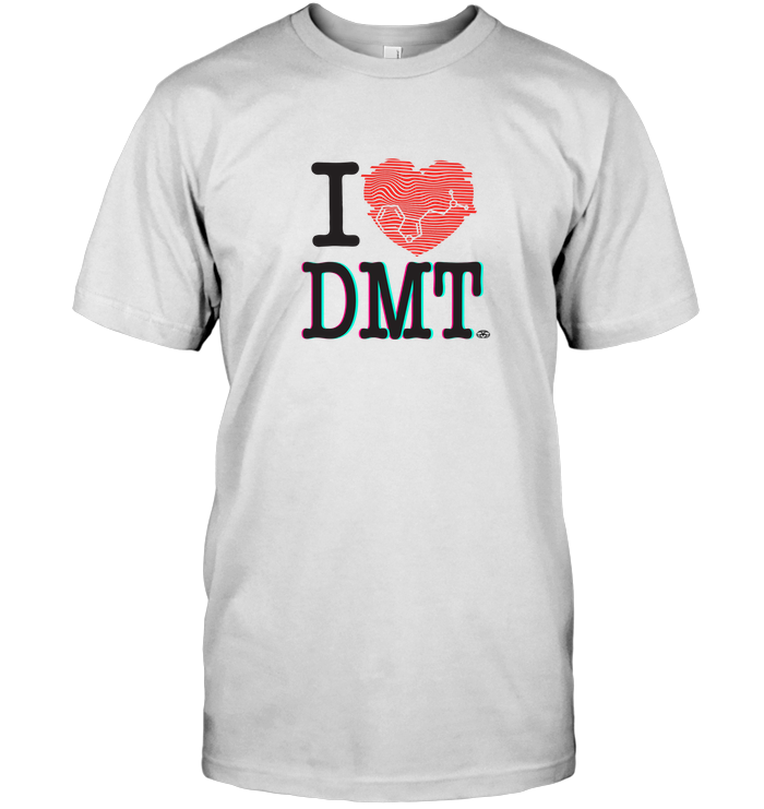 'I Heart DMT' Mens Apparel by Nick Zervos