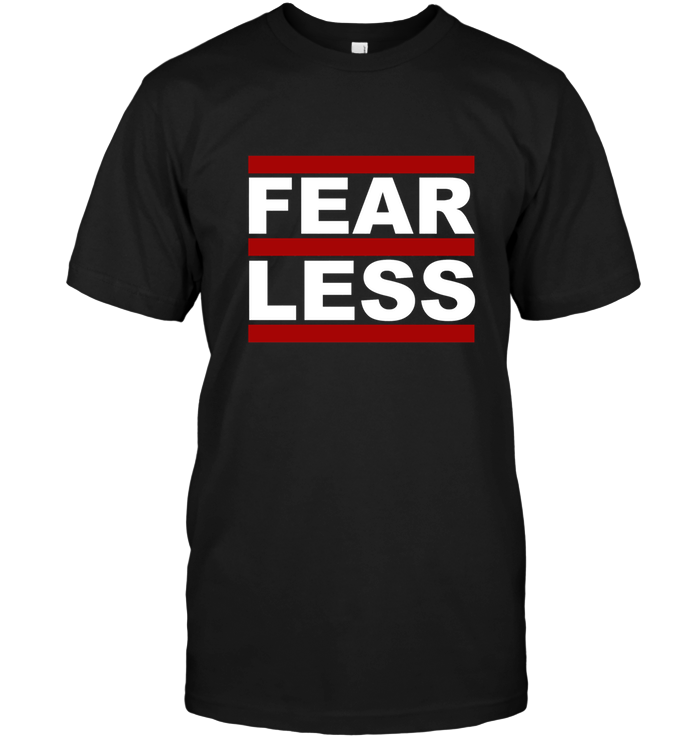 'FearLess Throwback' Mens Apparel by Tony
