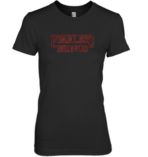 'FearLess Beings' Womens Apparel by Ron Freeman