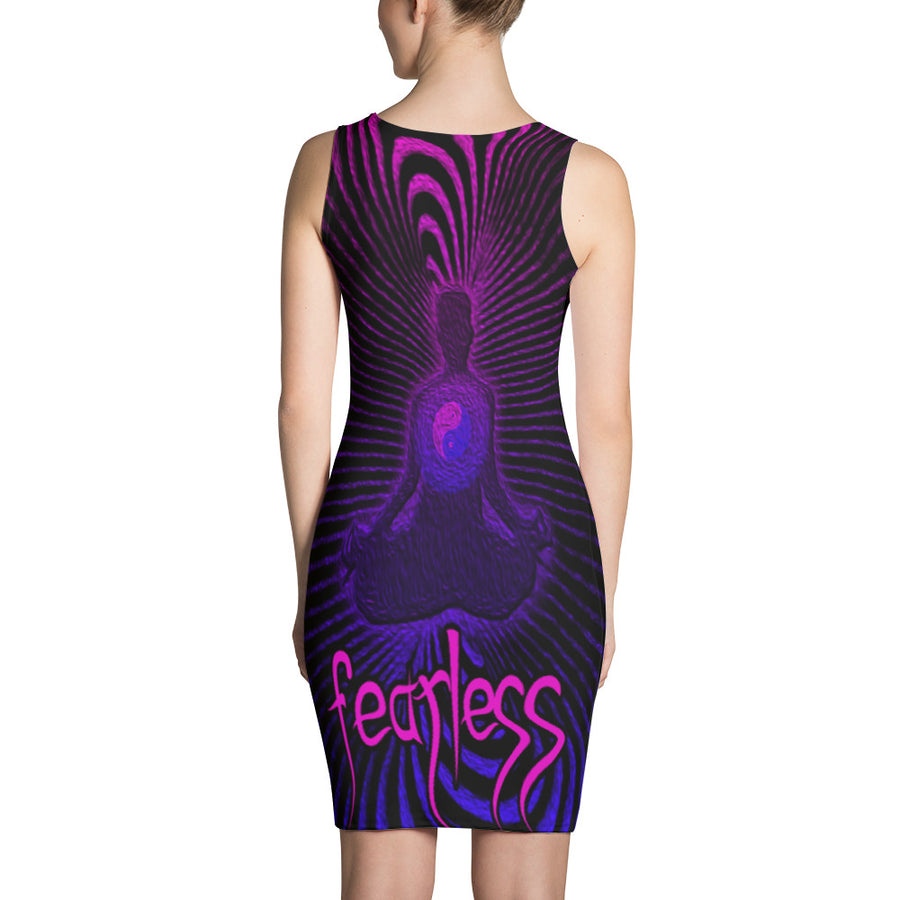 Ron's Prana Tube Purple Dress