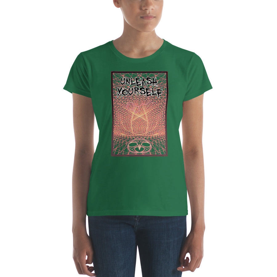 Nick's Unleash Yourself Ladies' Short Sleeve Tee