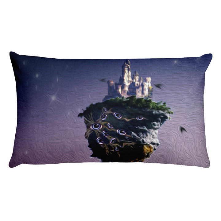 Aya's Floating Castle Pillow