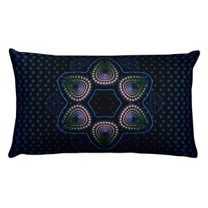 Nick's DMT Dream Rectangle Pillow