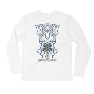 Nick's Baphomet DMT Entity Long Sleeve Shirt