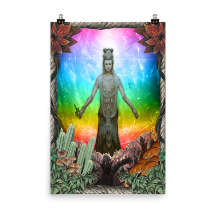 Quan Yin, By Ron, Photo paper poster