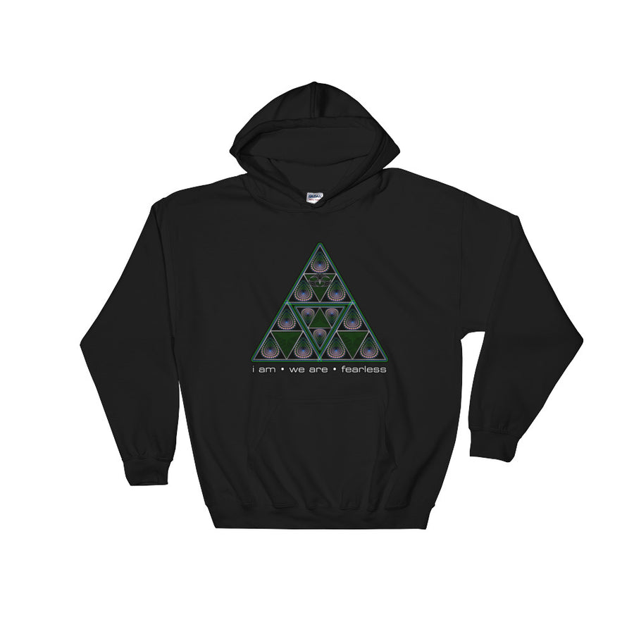 Nick's Fearless Triangle Hooded Sweatshirt