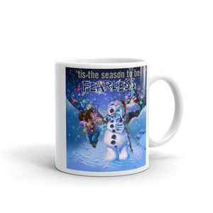 Nick's Seasonal Snowman Zombie Mug made in the USA