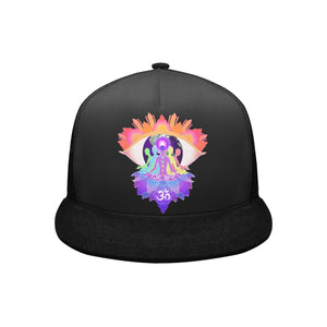 'We Are hOMe' black Hip Hop cap by Joseph Forde