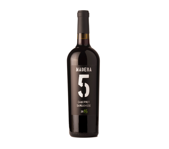 MADERA 5 - SANGIOVESE CABERNET 2015 - Enocionesmx