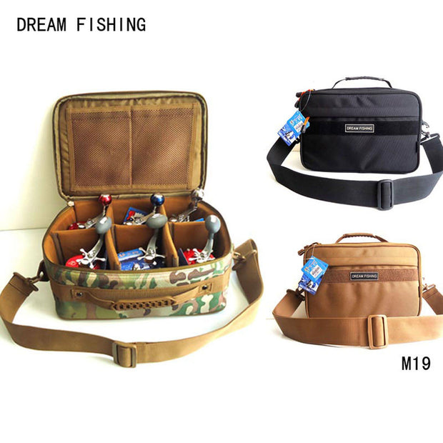 Large Capacity Knapsack Tackle Fishing bag 13 x 5 x 9 inches