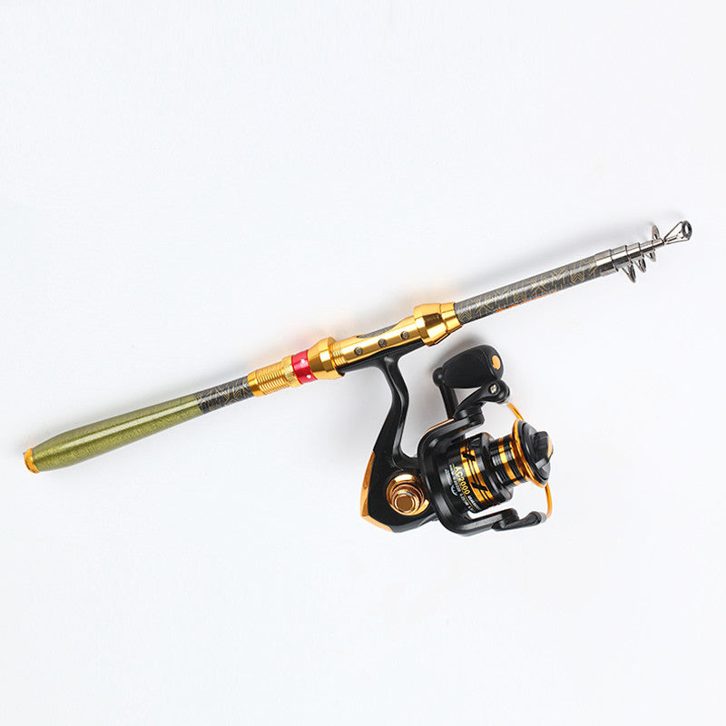 99% Carbon 1.8M 2.1M 2.4M 2.7M 3.0M Portable Telescopic Fishing Rod