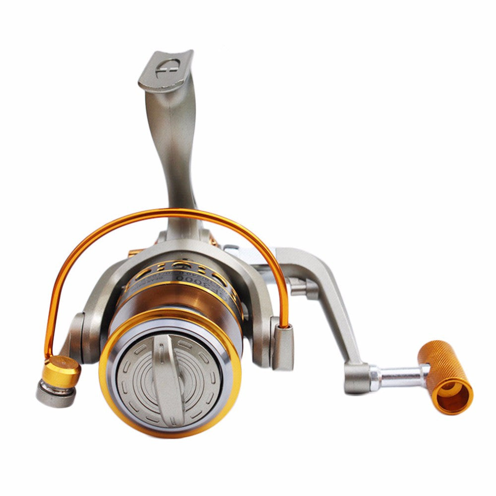 Never Break GF 12 BB 5.2:1 Full Aluminum Metal Fishing Reel