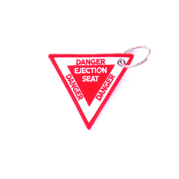 EJECTION SEAT (TRIANGLE) KEYCHAIN