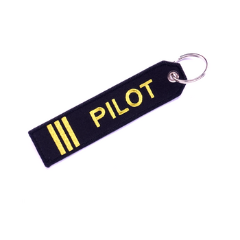 PILOT (FIRST OFFICER) KEYCHAIN