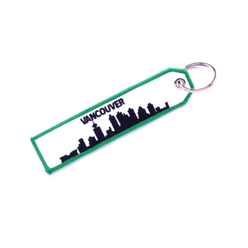 VANCOUVER YVR KEYCHAIN