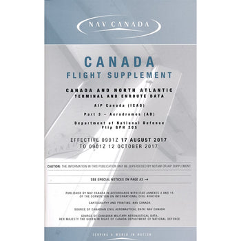 CANADA FLIGHT SUPPLEMENT CFS- ENGLISH