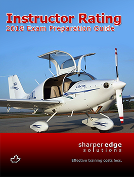 2018 SHARPEREDGE INSTRUCTOR RATING EXAM PREP