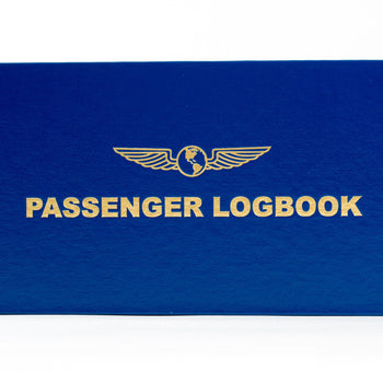 PASSENGER LOGBOOK (Name Embossing Available)
