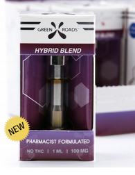 Green Roads Hybrid Blend CBD Vape Cartridge