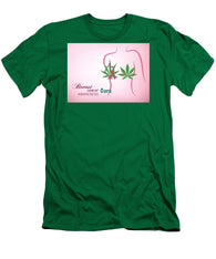 Breast Cancer Cure Awareness - Men's T-Shirt (Athletic Fit)