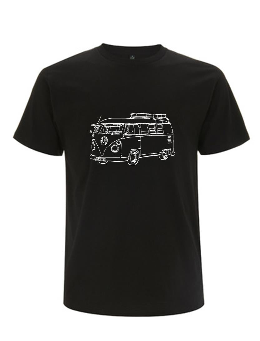 Kombi T-shirt - black