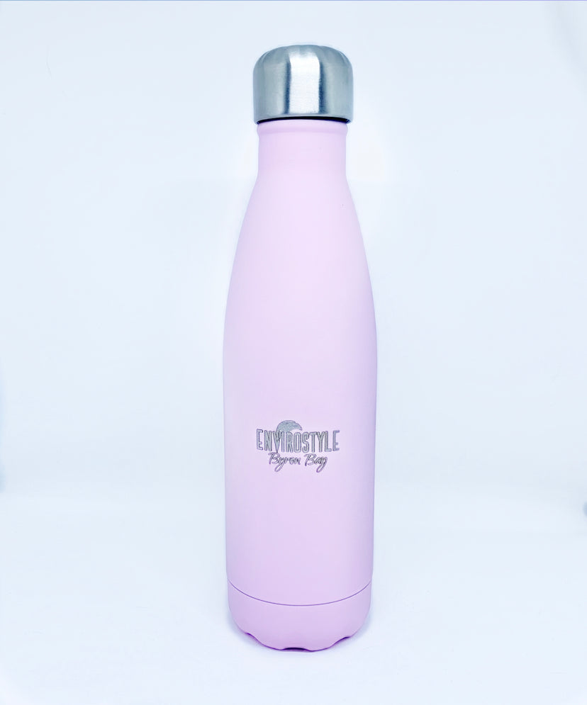 Stainless Steel Bottle - Pale Pink