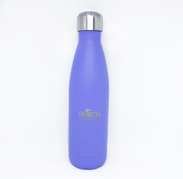 Stainless Steel Bottle - Purple