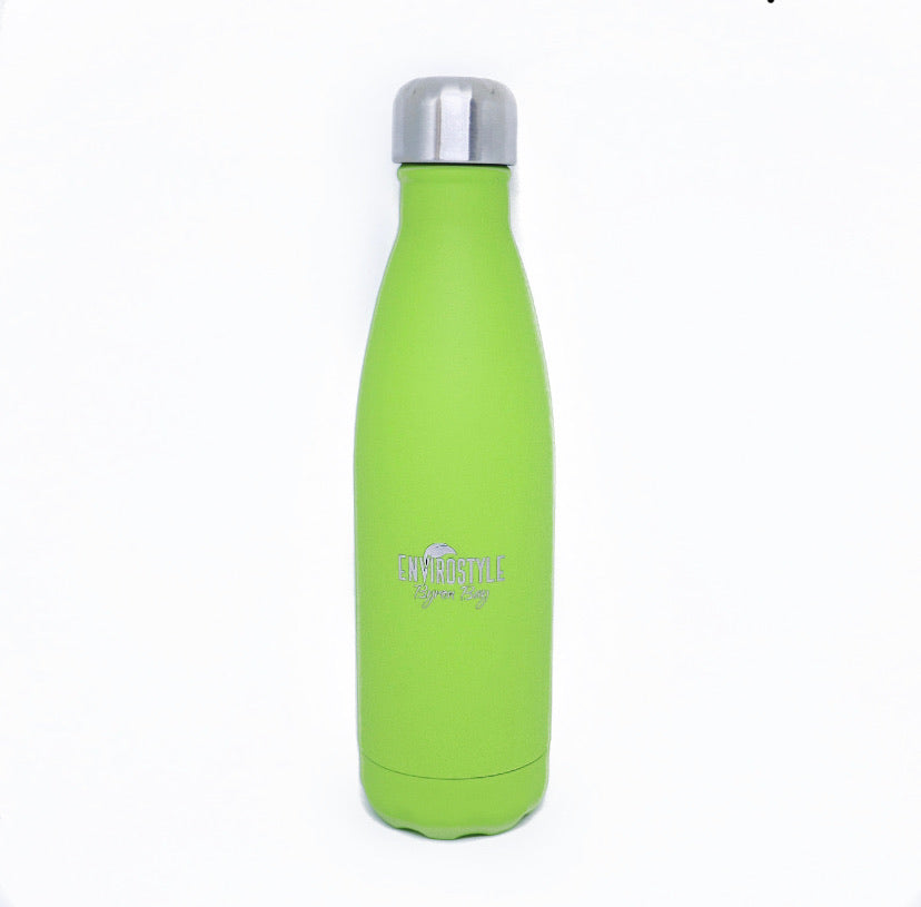 Stainless Steel Bottle - Lime Green