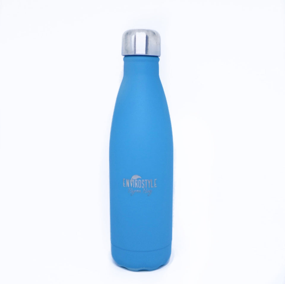 Stainless Steel Bottle - Blue