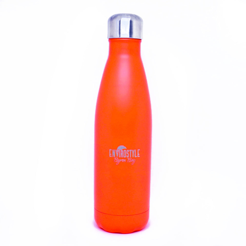 Stainless Steel Bottle - Orange