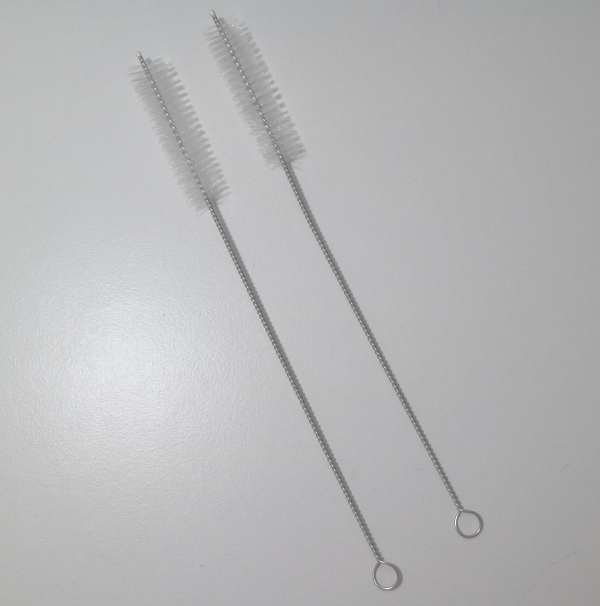 Stainless Steel Straw Cleaning Brushes - set of two
