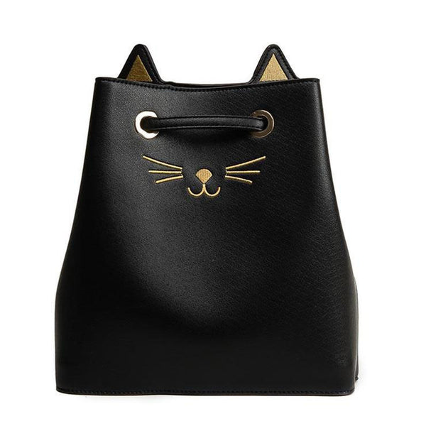 Cat Face Shoulder Bag
