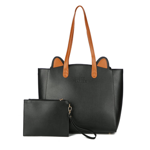 Black Tote Bag - Amazing Pet
