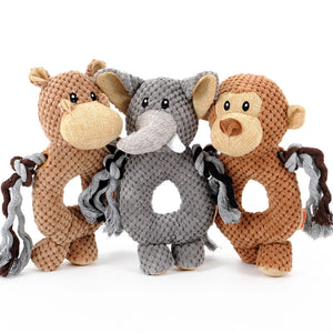HOOPET Soft Squeak Toys