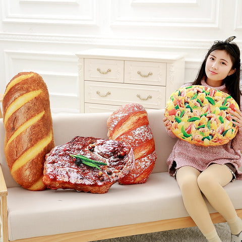 Creative Bread / Pizza Pillow - Amazing Pet