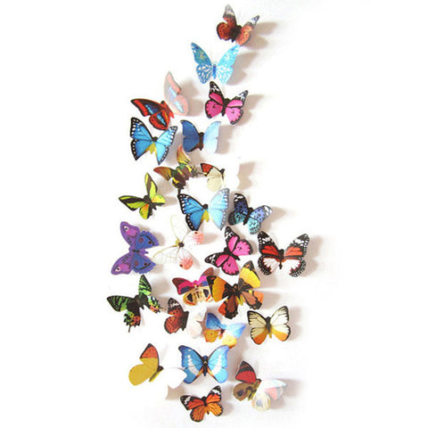 1 Set of 3D Butterfly Wall Sticker - Amazing Pet