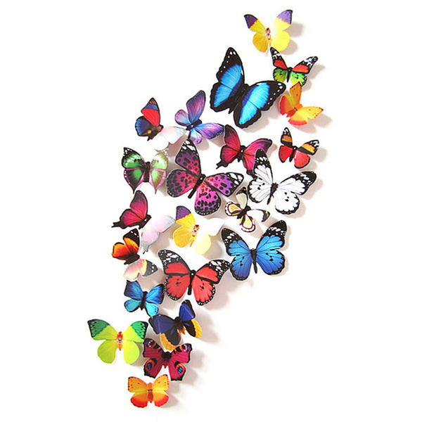 1 Set of 3D Butterfly Wall Sticker