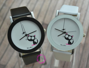 Spider & Cat Watch for Kids and Women