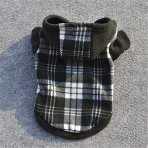 Fleece Hooded Jacket - Amazing Pet