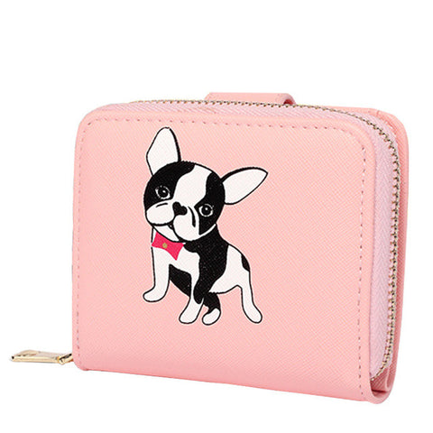 Boston Terrier Women Wallet