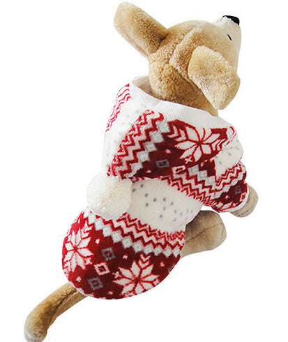 Pet Sweater - Snowflake Pattern - Amazing Pet