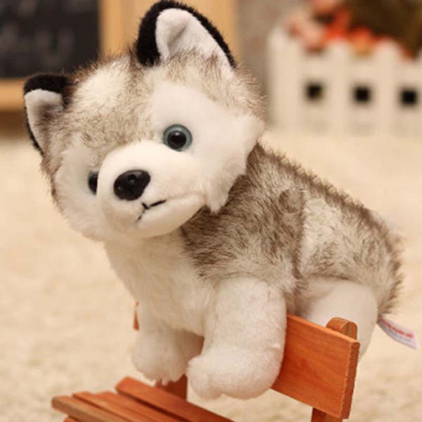 Plush Husky Dog