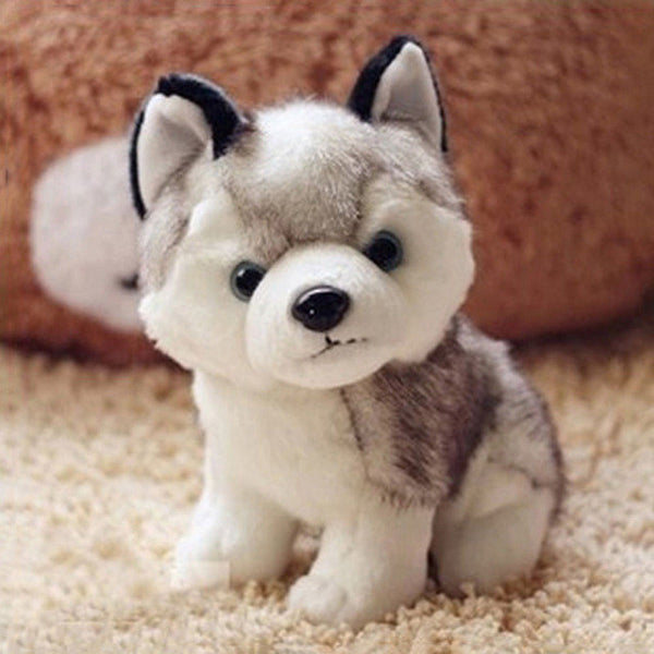 Plush Husky Dog - Amazing Pet