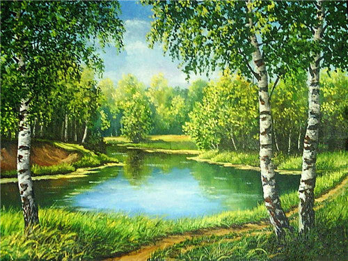 DIY Diamond Painting - River - Amazing Pet
